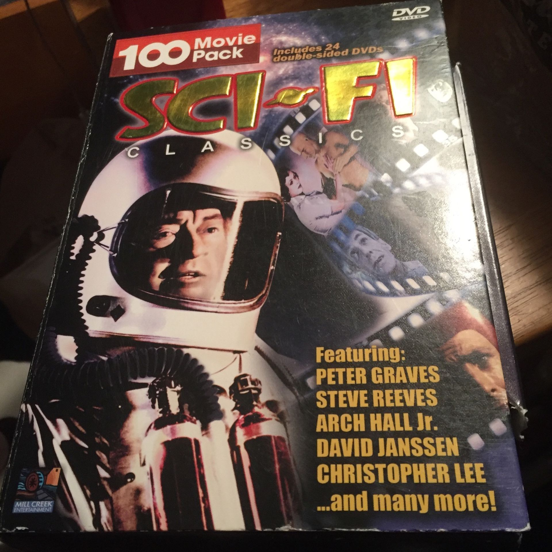 100 Movie Sci-fi Collection