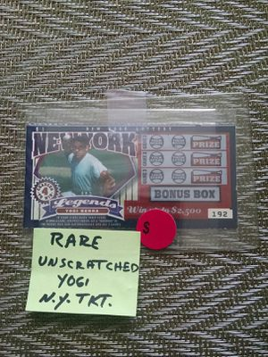 Yogi Berra's Expired Ticket for Sale in Yonkers, NY