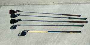 VINTAGE GOLF CLUBS for Sale in Fresno, CA