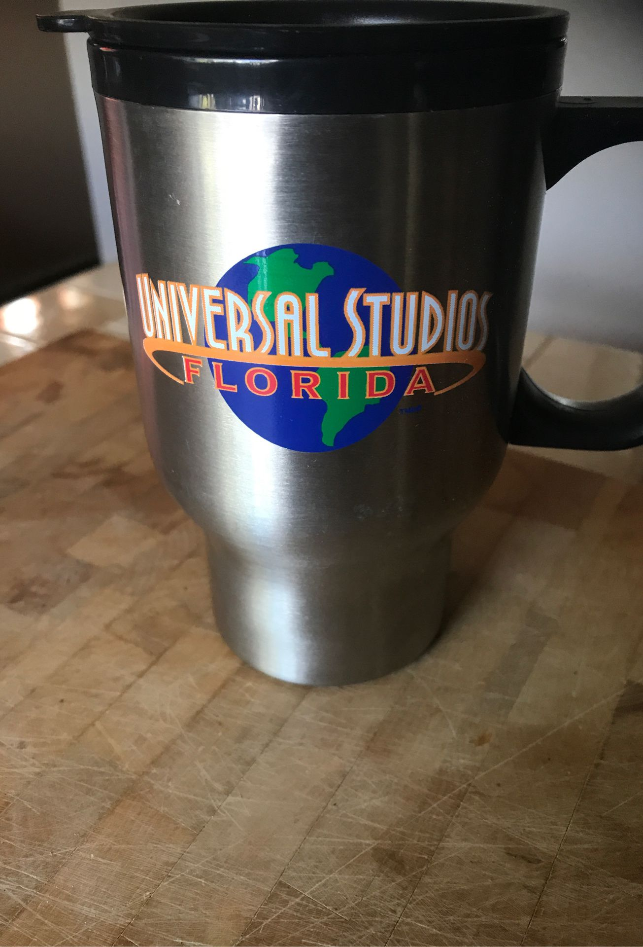 Universal studios insulated coffee mug