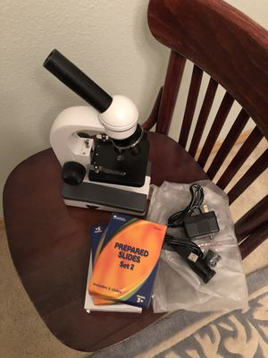 Microscope with Slides for Sale in Spanaway, WA