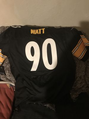 Authentic Nike Tj Watt Steelers Jersey for Sale in Pittsburgh, PA