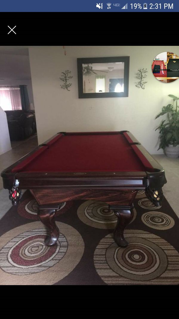 Very Nice Pool Table For Sale In Mesa AZ OfferUp - Pool table movers mesa az