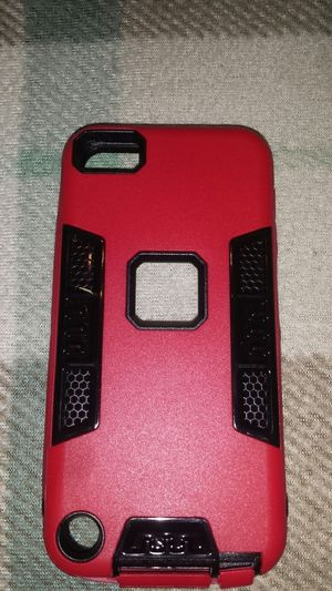 IPhone 5g case red, w\stylus and screen protector for Sale in Murfreesboro, TN