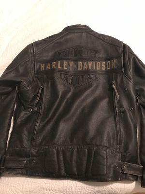 Harley Davidson biker leather jacket - Large for Sale in San Francisco, CA
