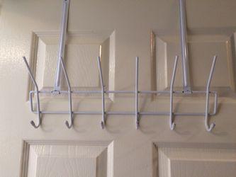 6 Hook over the door hanger Thumbnail