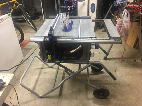 Tremendous Kobalt Portable Table Saw With Saw And Stand For Sale In Arlington Tn Offerup Download Free Architecture Designs Scobabritishbridgeorg