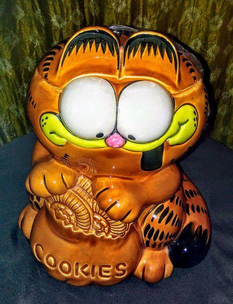 Garfield Cookie Jar Stunning Garfield Cookie Jar Enesco For Sale In Elgin IL OfferUp