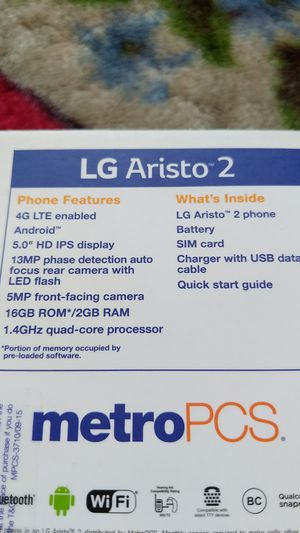 LG Aristo 2 for Metro pcs for Sale in Long Beach, CA - OfferUp