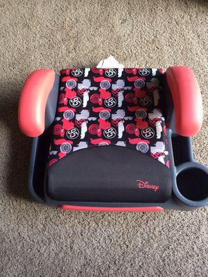 Disney backless boosters Car seat for Sale in Brambleton, VA