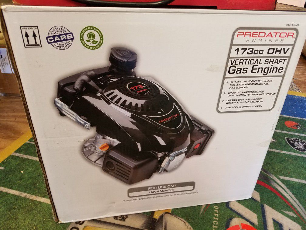 Brand new lawn mower engine. Never used.