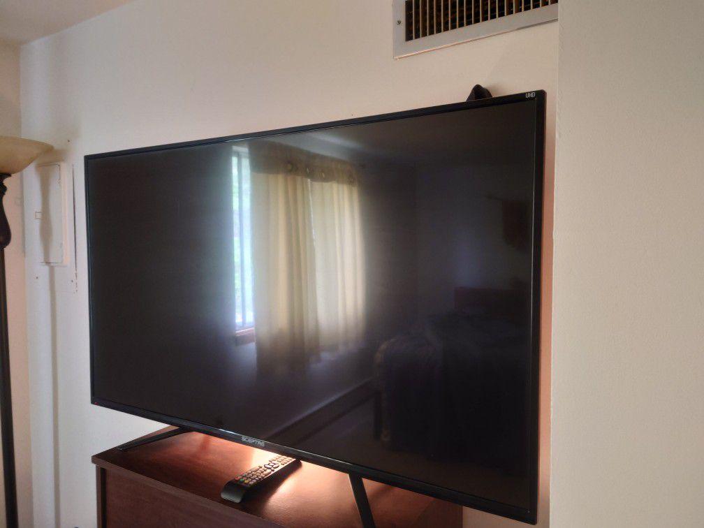 50' Sceptre 4K UHD TV