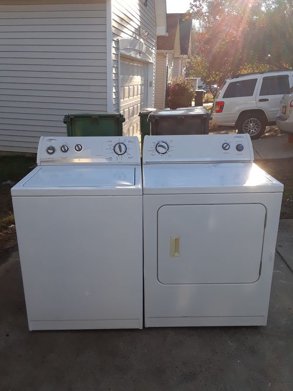 Whirpool Washer And Dryer For Sale In Charlotte Nc Offerup