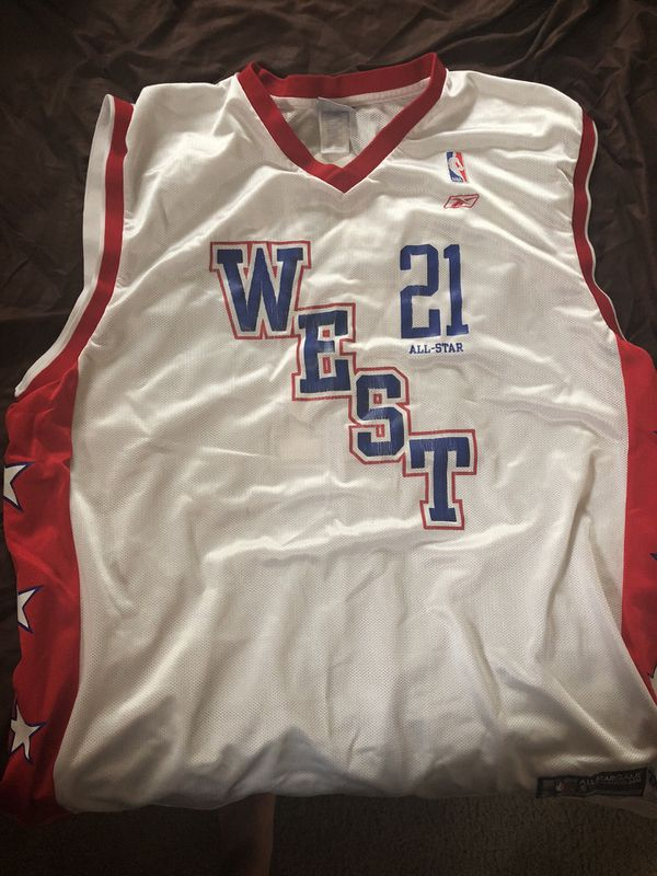 online retailer 700b9 2a9a6 2004 All Star Game Tim Duncan Jersey 2XL for Sale in Scranton, PA - OfferUp