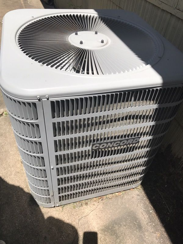 4 Tons Concord Central air conditioning & Ducane Furnace for Sale in  Houston, TX - OfferUp