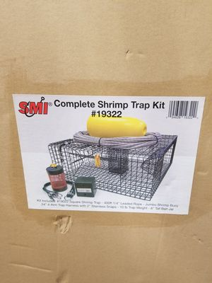 2 shrimp pot kits everything you need for Sale in Orting, WA