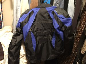 Xelement Motorcycle jacket blue New for Sale in Santa Monica, CA