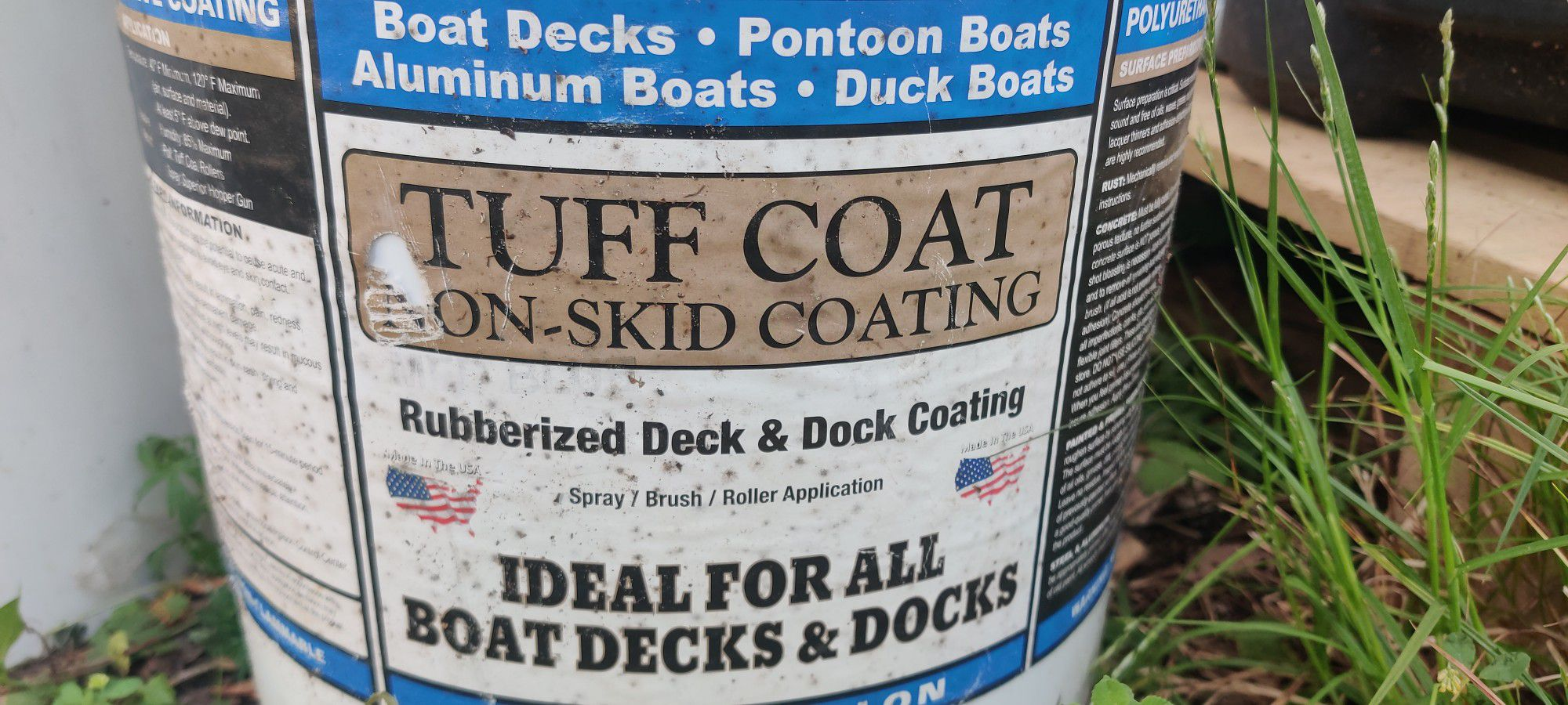 Photo 5 Galllon Rubberized Tough Coathave 30g For Boats Docks Blue Also Trade One 5 G Bucket For A Fat Tire Bike . Open To Trades Obo