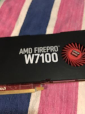 Video card AMD FIREPRO W7100 8 GB for Sale in Boston, MA