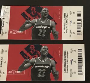 Wizards vs. Clippers- AMAZING SEATS for Sale in Arlington, VA