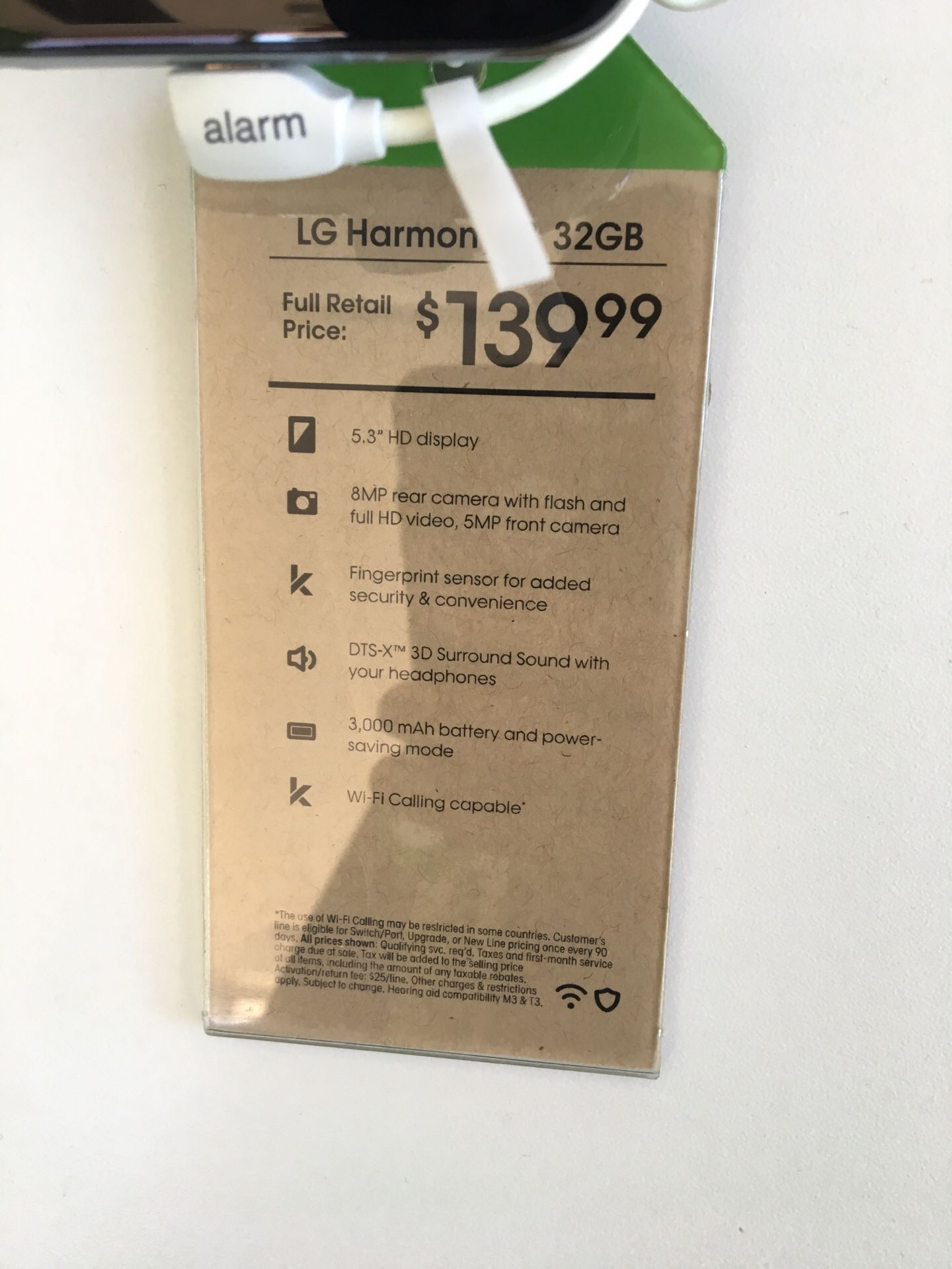 LG Harmony 2 32GB