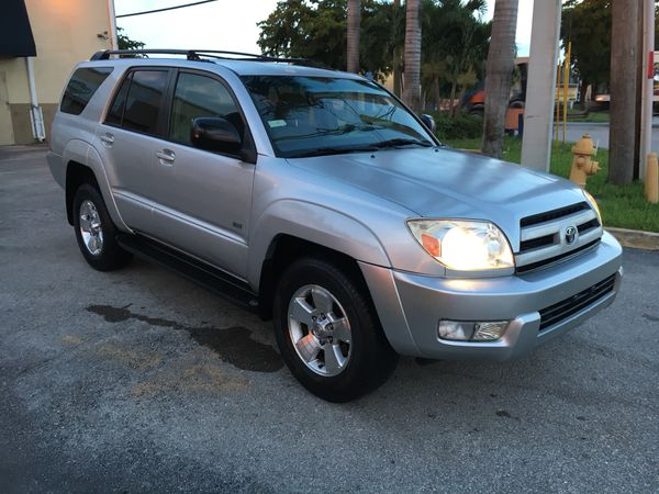Offer Up Cars For Sale >> Toyota 4runner 2004 For Sale In Miami Fl Offerup