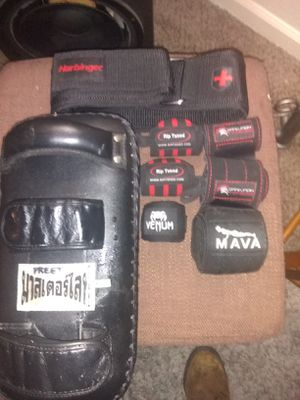 Photo MMA work out equipment only used one time