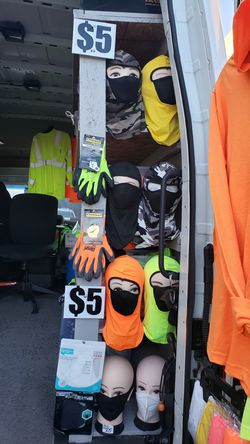 Safety mask vest and shirts Thumbnail