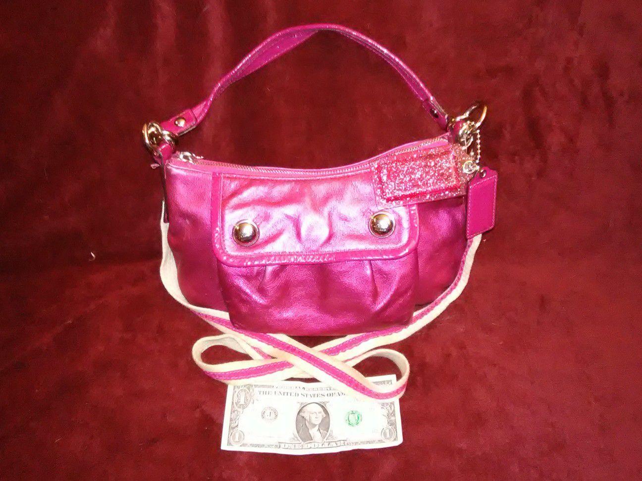 Coach small leather handbag-No.G0973-13850