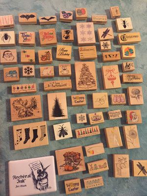 Wood Stamps Arts & Crafts for Sale in Fort Washington, MD