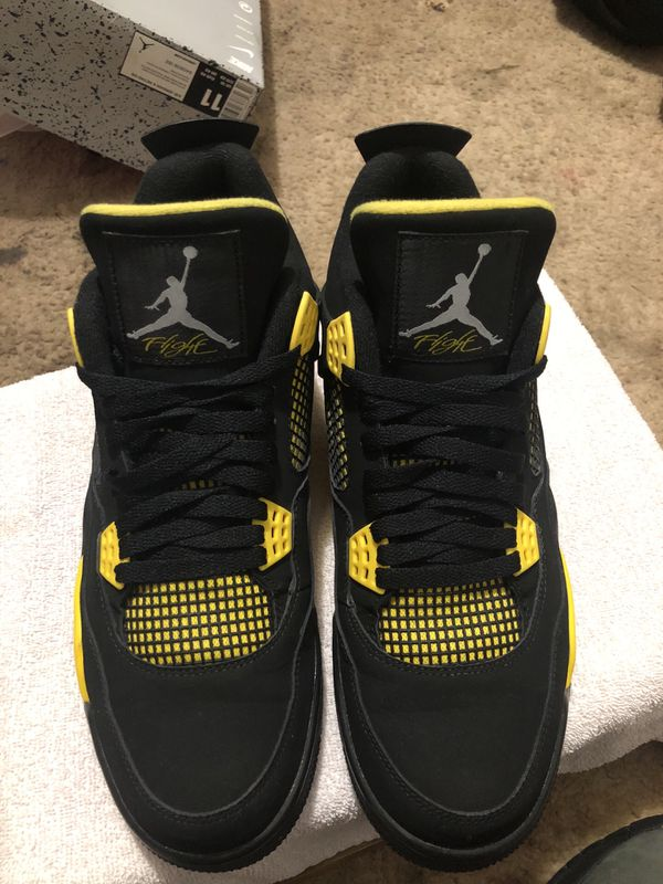 5f4a48753417e8 Jordan thunder 4s size 11.. no trades.. need cash for Sale in Olympia ...