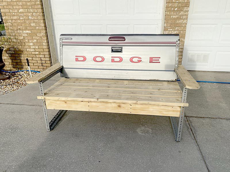 Father's Day Gift! - Dodge Tailgate Bench