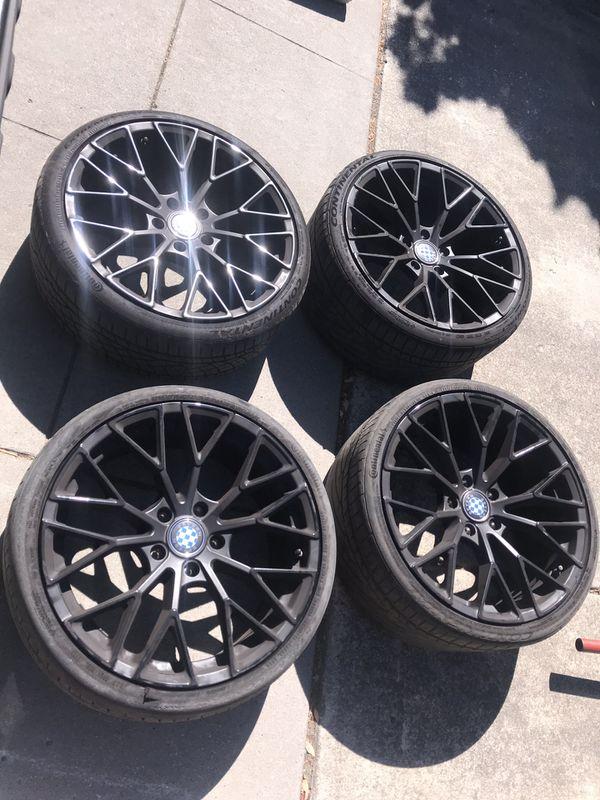 Bmw 19 Inch Rims Beyern Wheels For Sale In San Jose Ca Offerup
