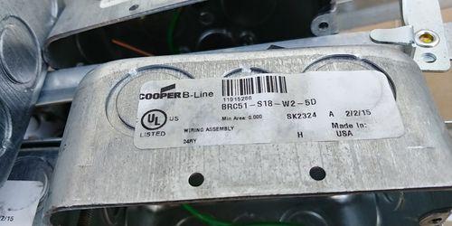 Cooper B-Line Conduit & Box BRC51-S18-W2-5D Thumbnail
