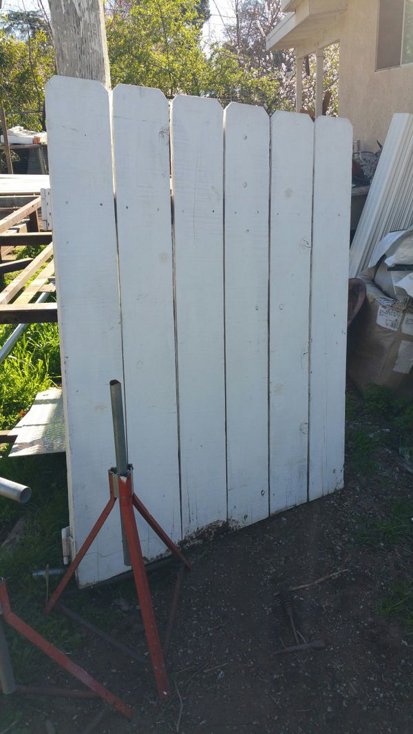 Wood Gate For Sale In Beaumont Ca Offerup