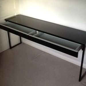 Desk - glossy - like new for Sale in Falls Church, VA