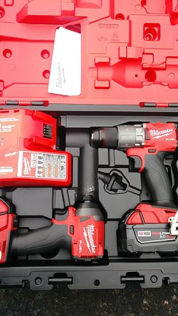 Milwaukee fuel m18 hammer drill and impact Thumbnail