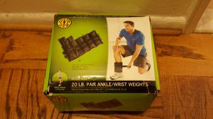 Gold's Gym 20lb Ankle/Wrist Weights for Sale in Arlington, VA