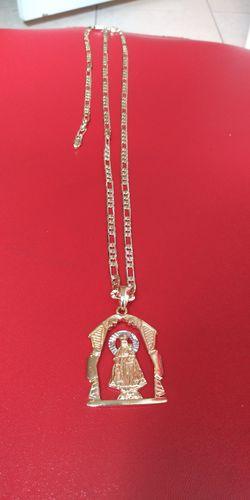 🚚💨I deliver🚀I Ship...😍😍💎14k Gold filled 💦 Necklace charm and bracelet🌟🌟🌟🌟🌟 Thumbnail