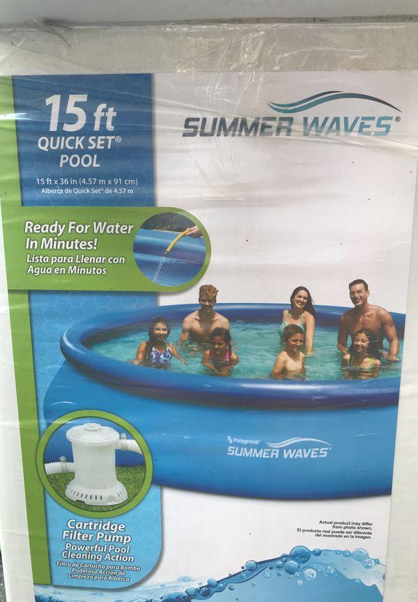 Quick set pool for Sale in Longmeadow, MA - OfferUp
