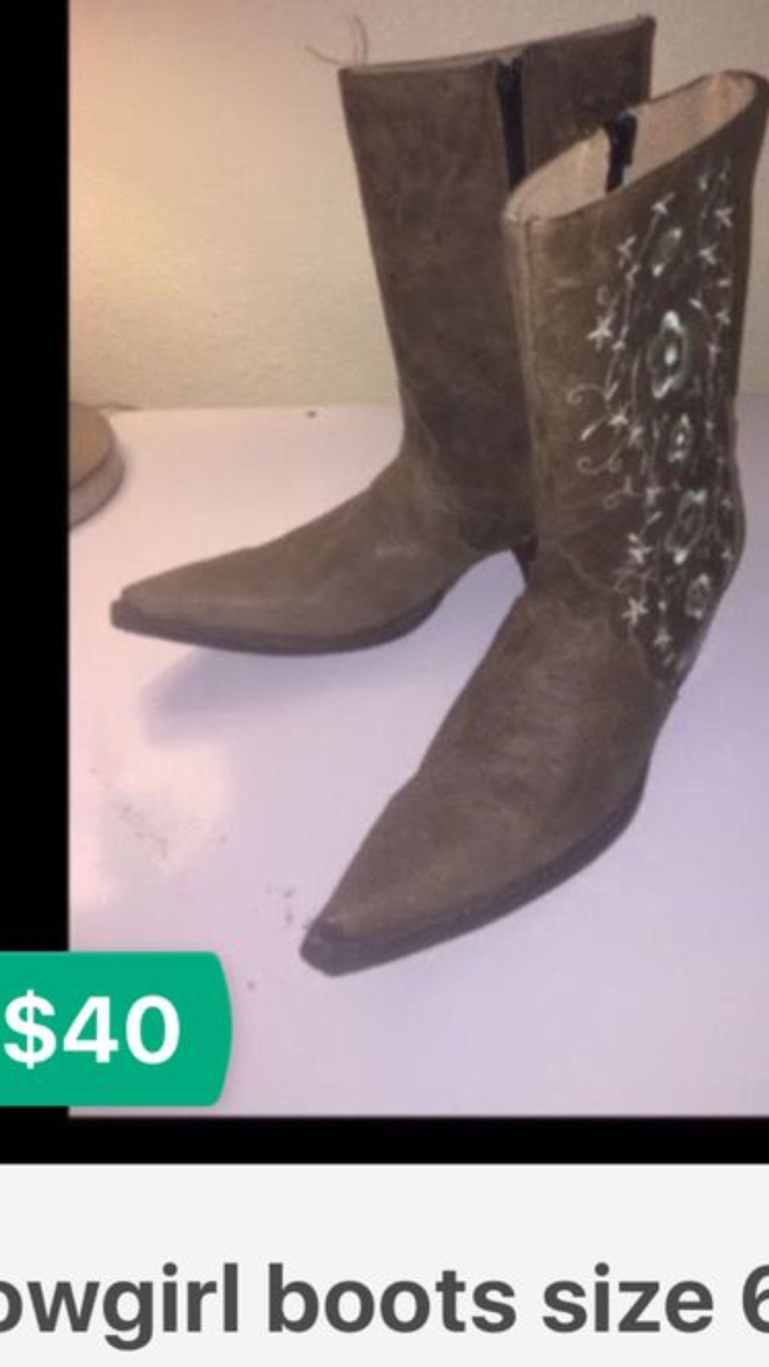 Boots size 6 new