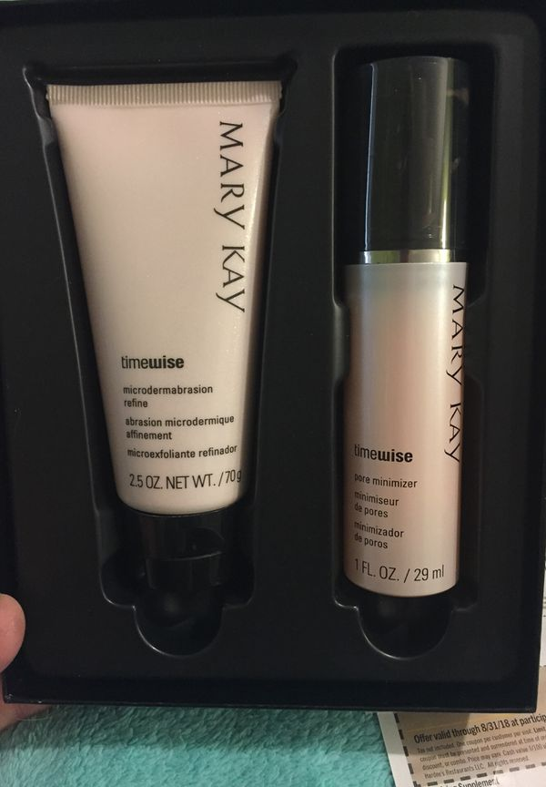 Mary Kay Microdermabrasion Set Eyeshadow Palette 3 In 1 Time
