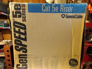 Cat 5E Riser General Cable for Sale in Nashville, TN