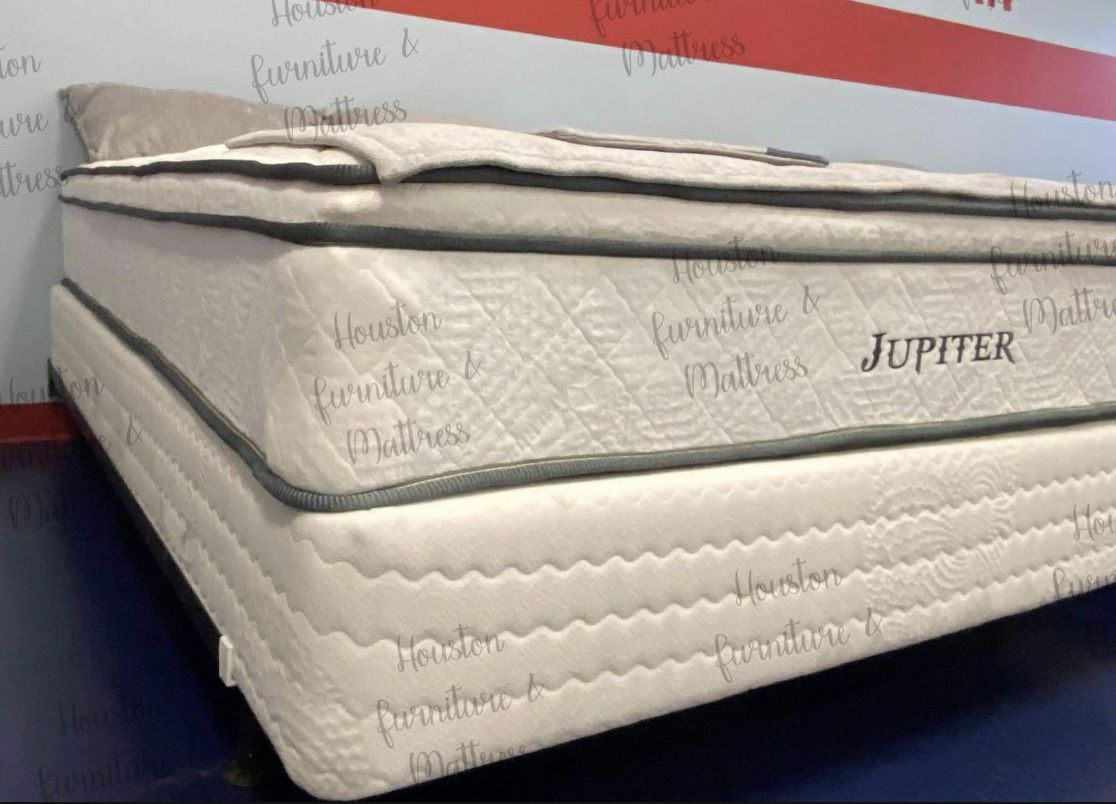 New Twin,full,queen & King Size Pillow Top Mattress & Box Spring- Order It Like A Pizza 🍕