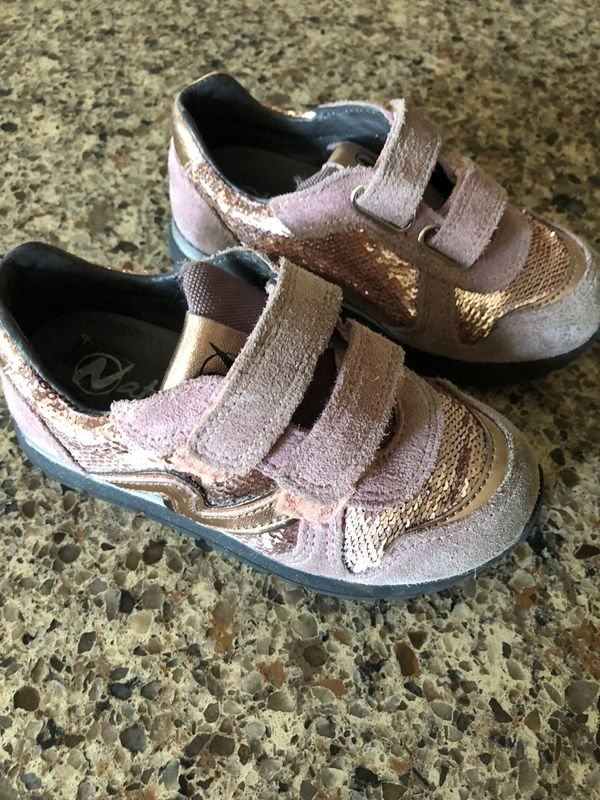 90bb7b00943175 Girls sparkly sneakers size 24 for Sale in Pleasant Hill