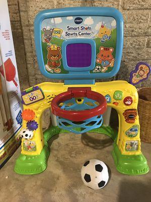 Vtech soccer and basket ball net toy for Sale in Warrenton, VA
