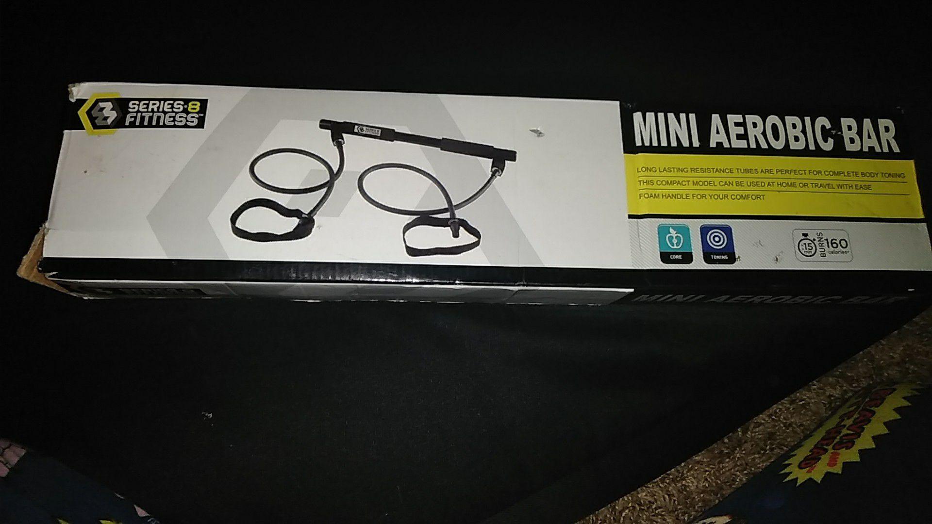 Mini Aerobic bar new in box