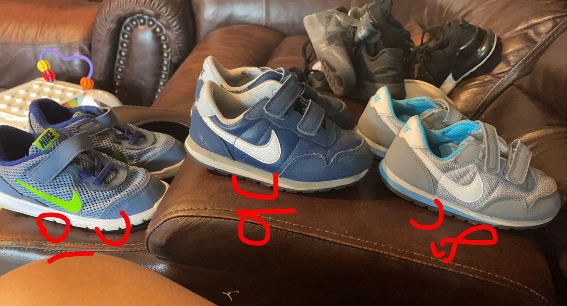 Shoes Boys 10c 9c 8c $8 Each