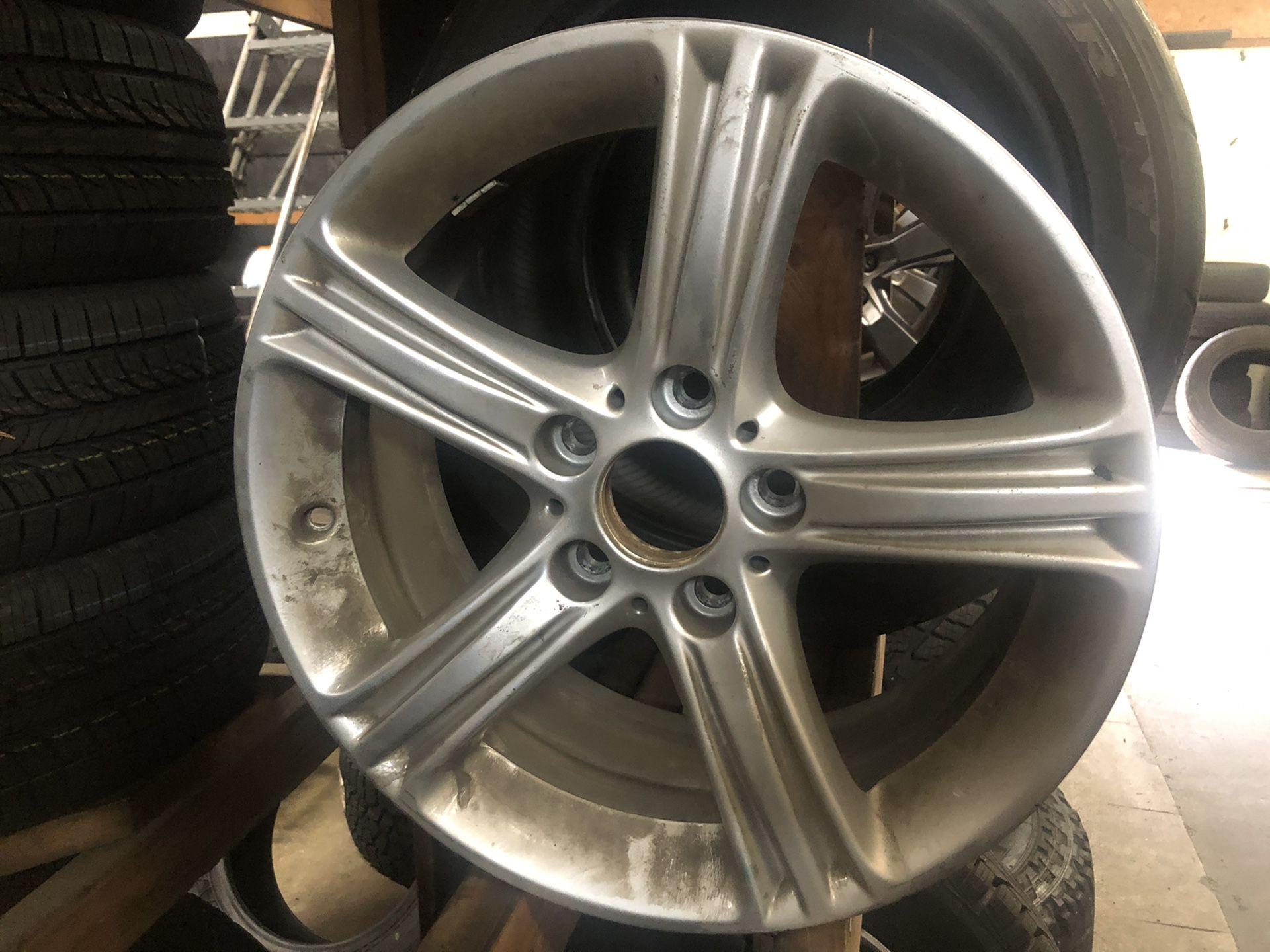 17 inch BMW wheels