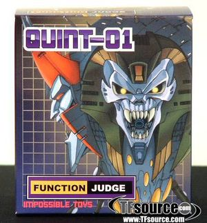 QUINT-01 QUINTESSON JUDGE Transformers G1 movie for Sale in San Mateo, CA